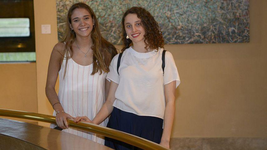 Natalia Pavio y Mariana Carpinetto.