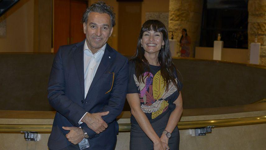 Santiago Durany y Soledad Soria.