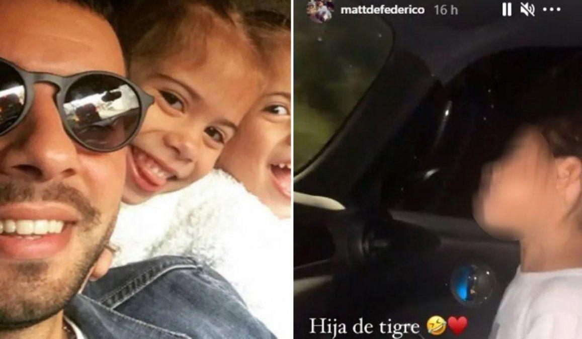 Defederico, manejando, filmó a su hija sentada delante sin cinturón: durísima consecuencia