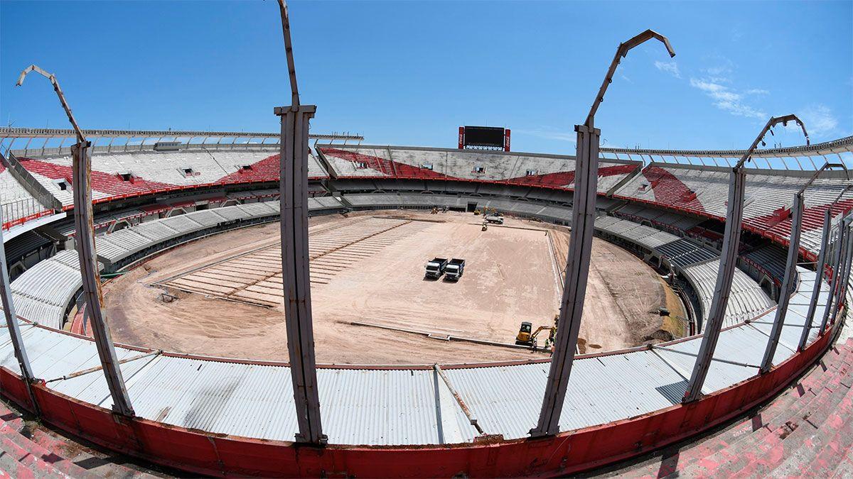 River: otro hallazgo en las obras del estadio Monumental
