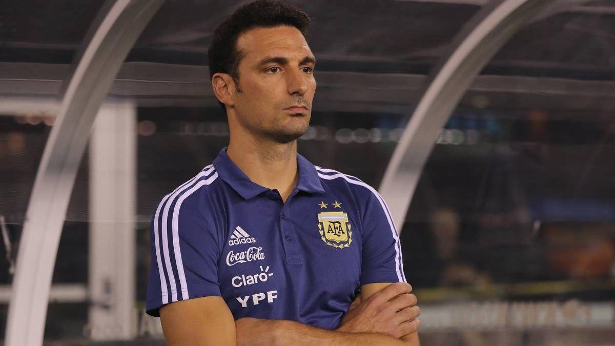 Scaloni entregó la lista para enfrentar a Chile y Colombia