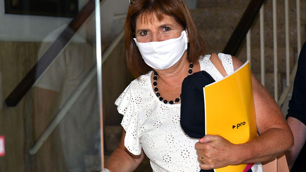 Patricia Bullrich volvió a ponerse en la primera línea de la críticas a las medidas sanitarias y restricciones anunciadas por el presidente Alberto Fernández.