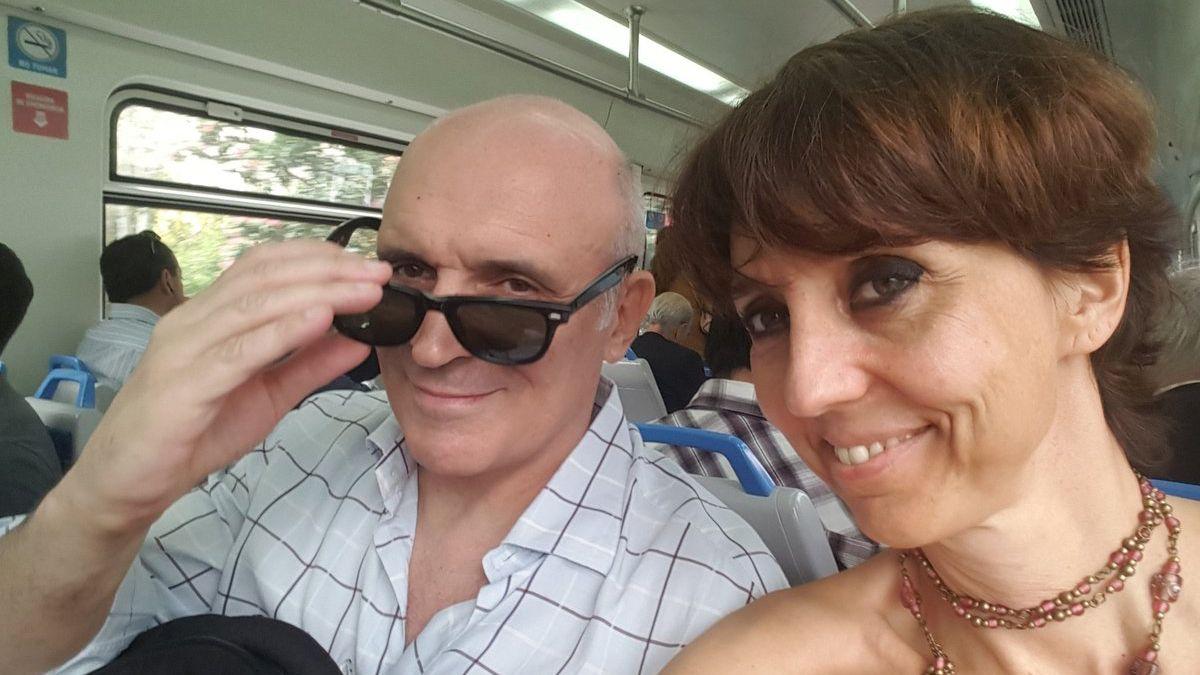José Luis Espert y María Mercedes González