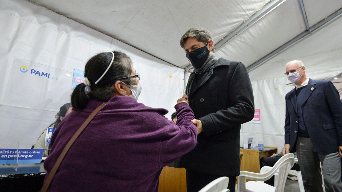 Vacunas: Axel Kicillof habló con Matías Almeyda