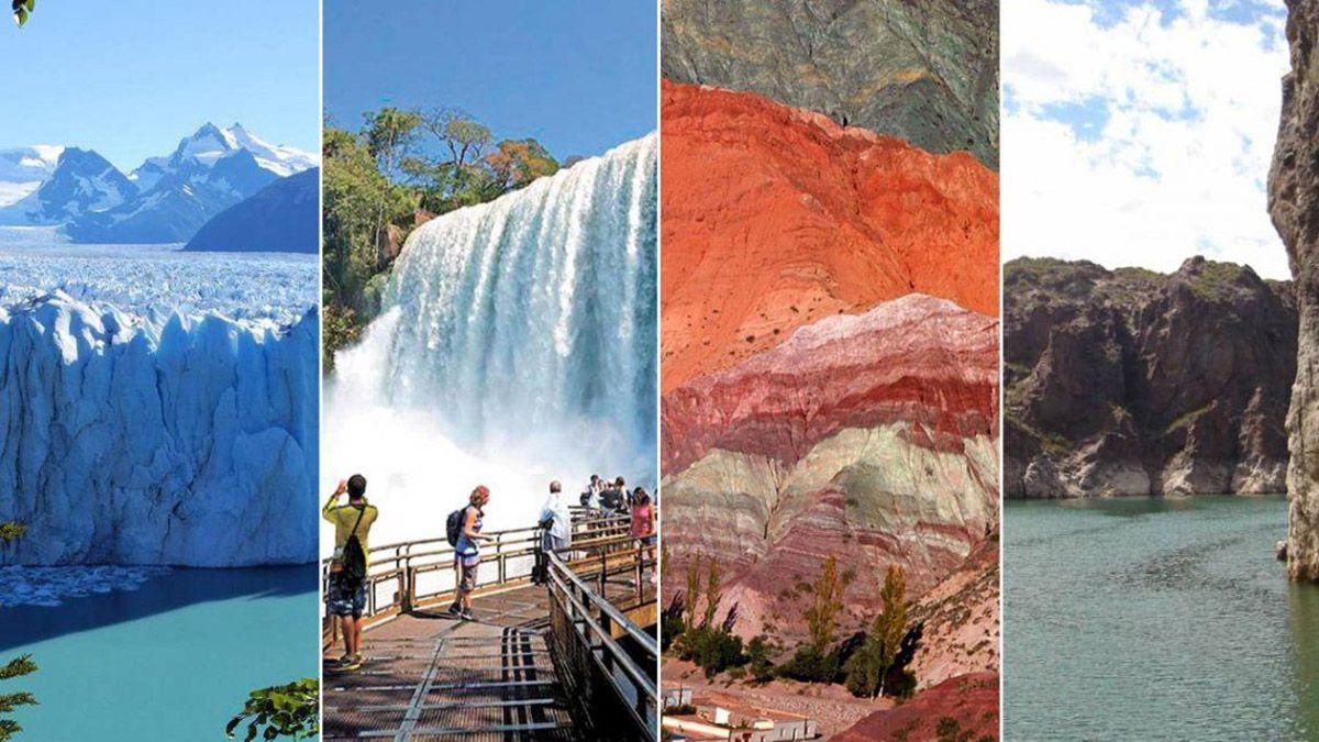 Muchas personas aprovechan los feriados y cada fin de semana largo para hacer turismo por el país.