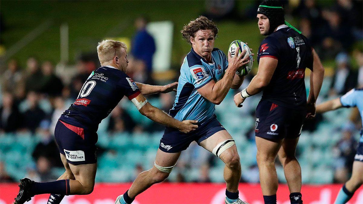 Waratahs venció a Rebels y mantiene chances en el Super Rugby australiano.