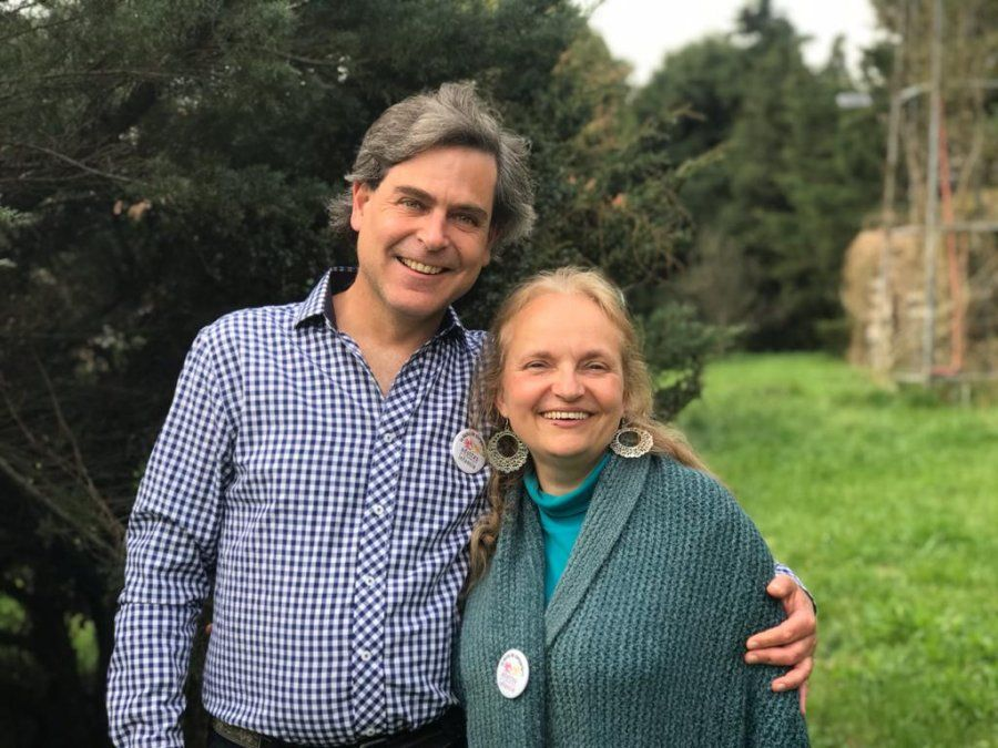 Sebastián Cuattromo y Silvia Piceda
