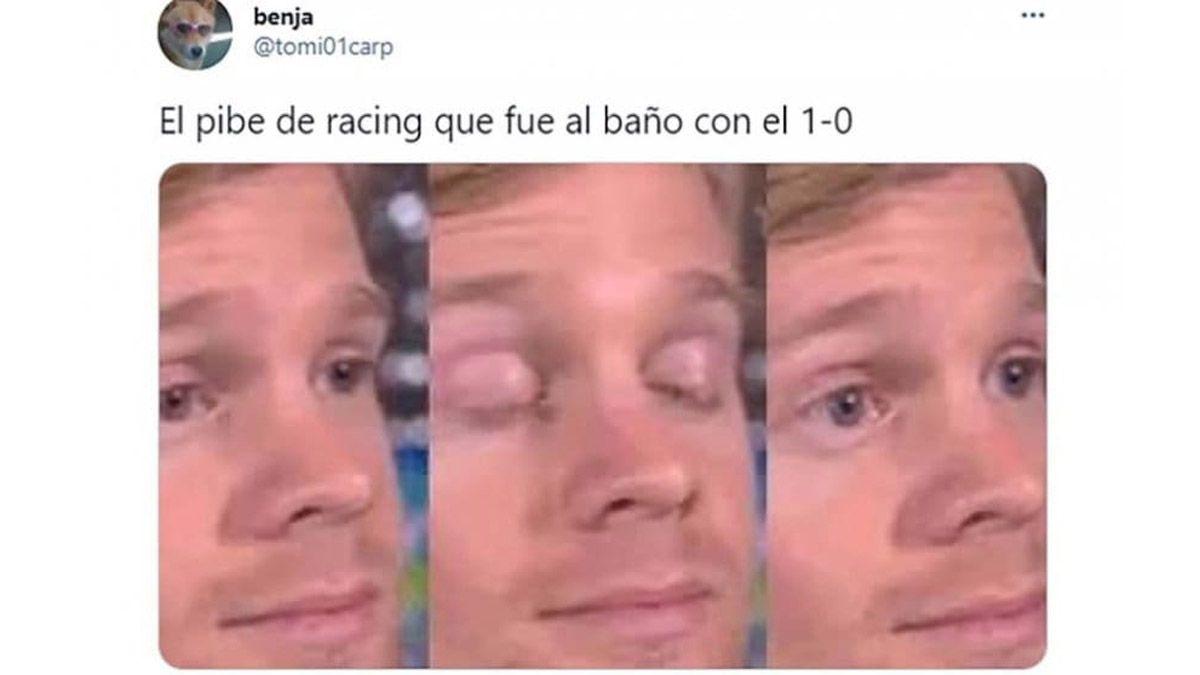 Los memes de Racing por sufrir una de sus peores noches