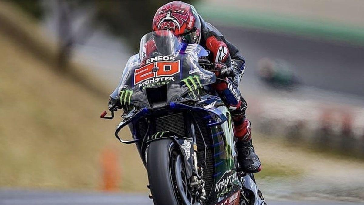 MotoGP: Quartararo se quedó con el Gran Premio de Portugal
