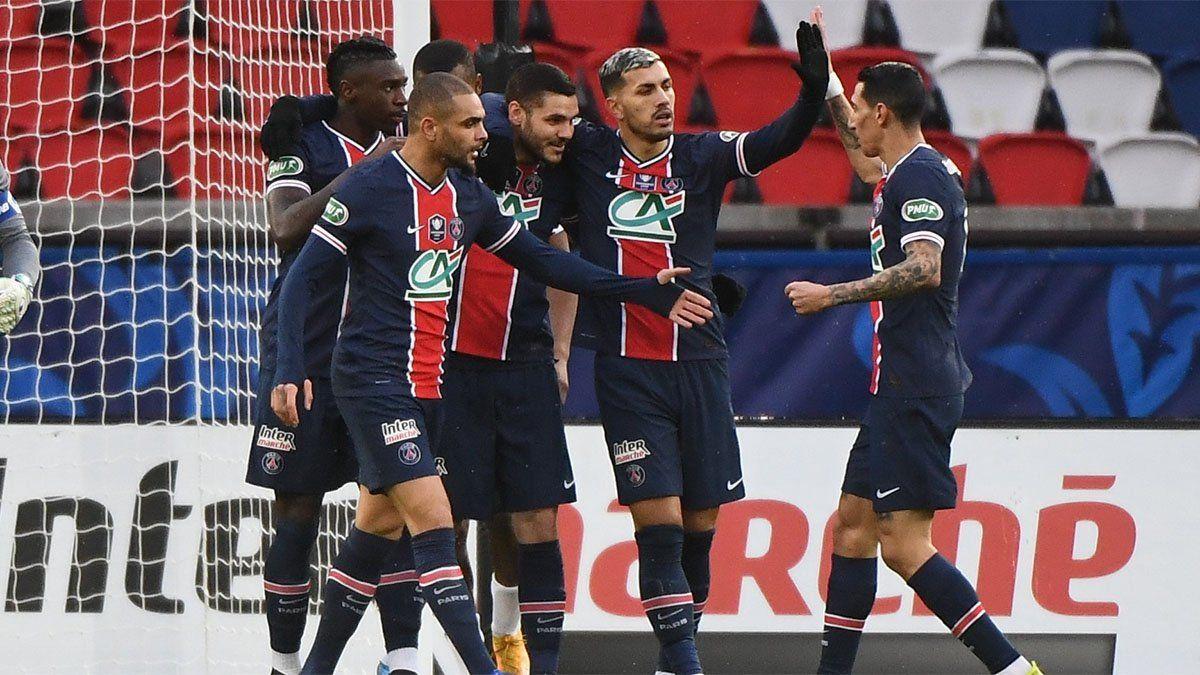 Icardi anotó y PSG se metió en los cuartos de final de la Copa de Francia