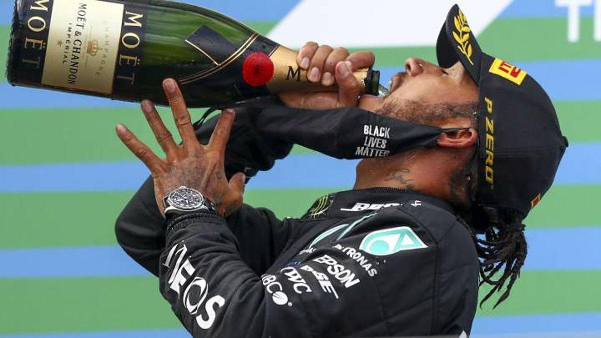 Hamilton se llevó la victoria en Portugal