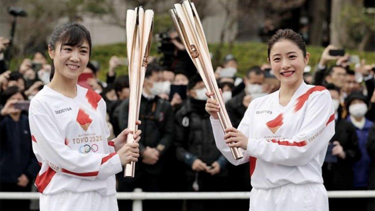 La salida de la llama olímpica de los Juegos se hará sin público