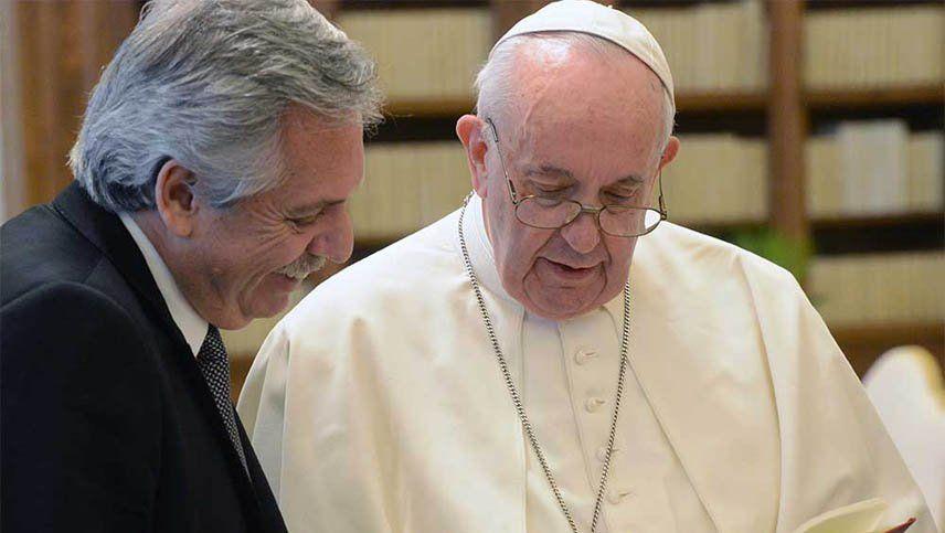 Fernández llamó al papa Francisco para agradecerle el respaldo con los bonistas