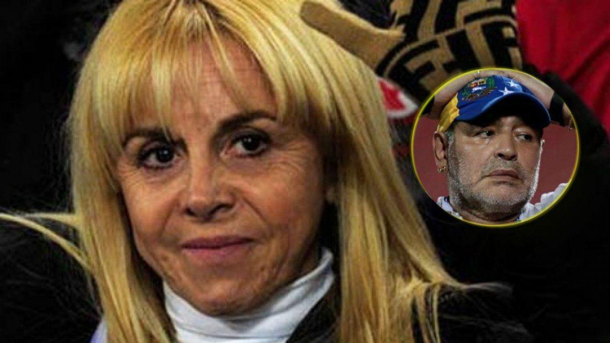 Claudia Villafañe reveló cómo se enteró de la muerte de Maradona.