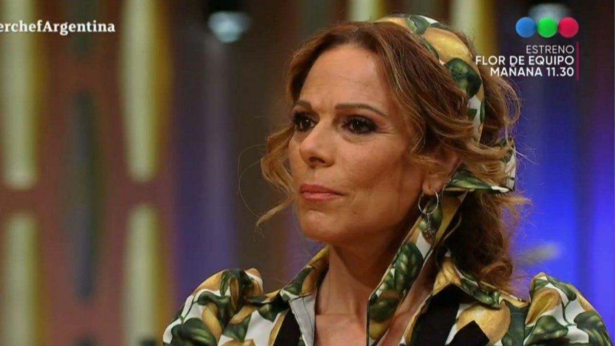 Iliana Calabró reveló la interna entre los participantes de Masterchef Celebrity: Hay mala onda