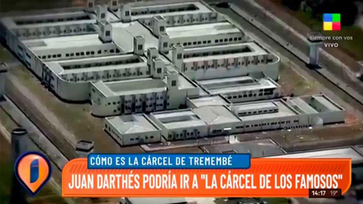 Imágenes de la cárcel vip a la que iría Juan Darthés