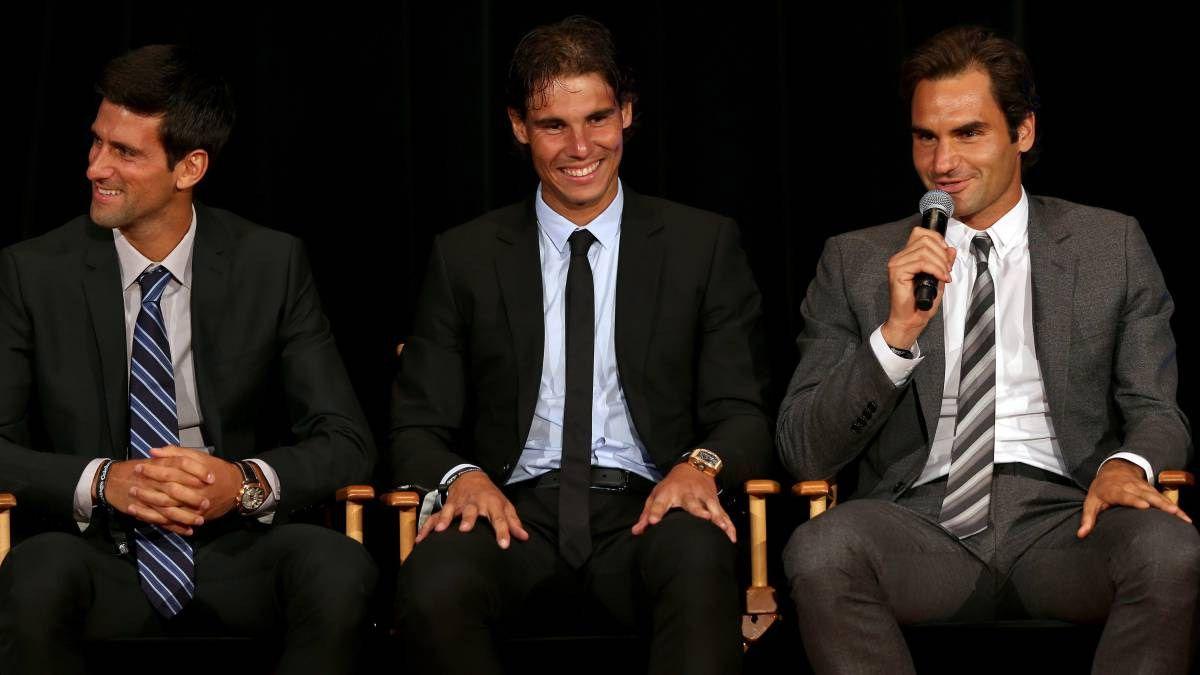 Federer y Nadal le declararon la guerra a Djokovic