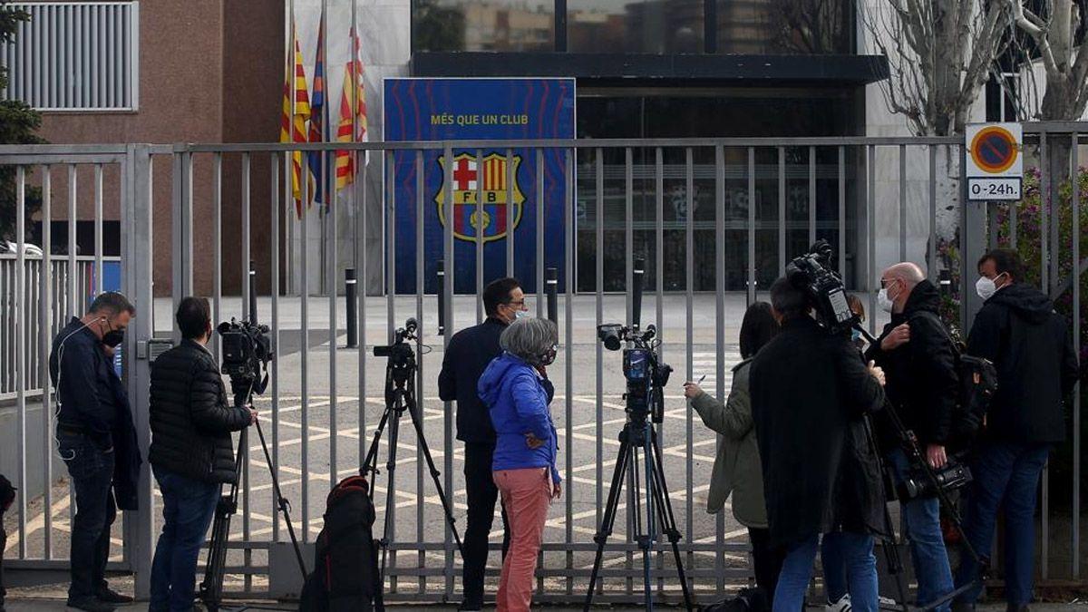 Flor de escándalo en el Barcelona