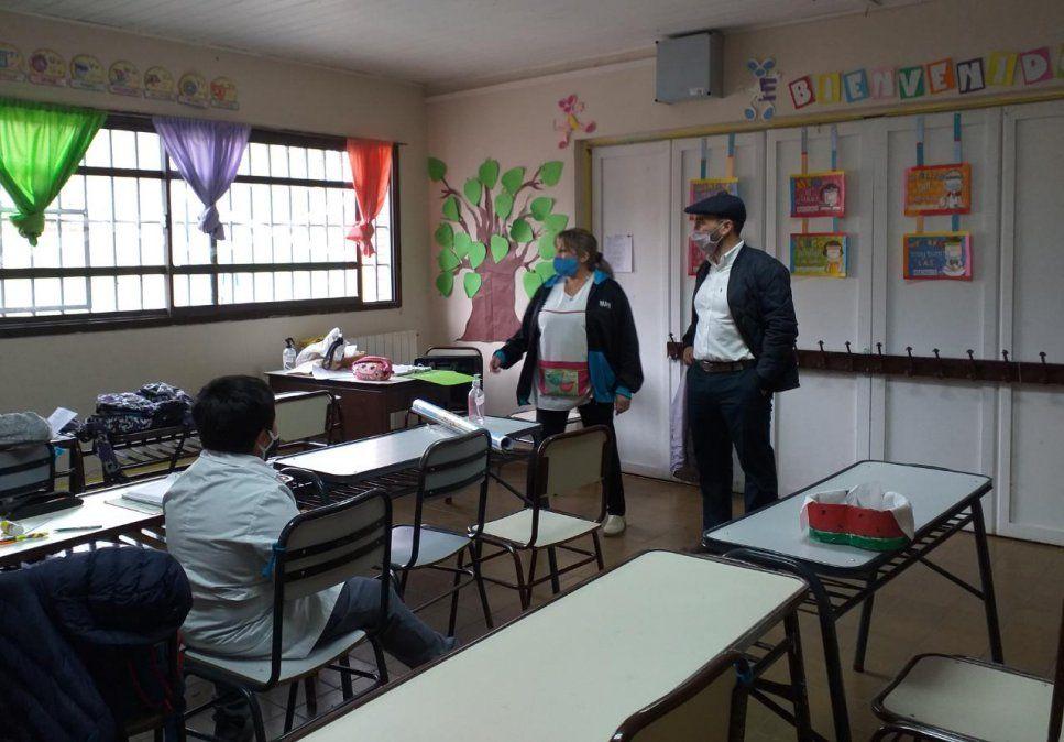 El director general de escuelas