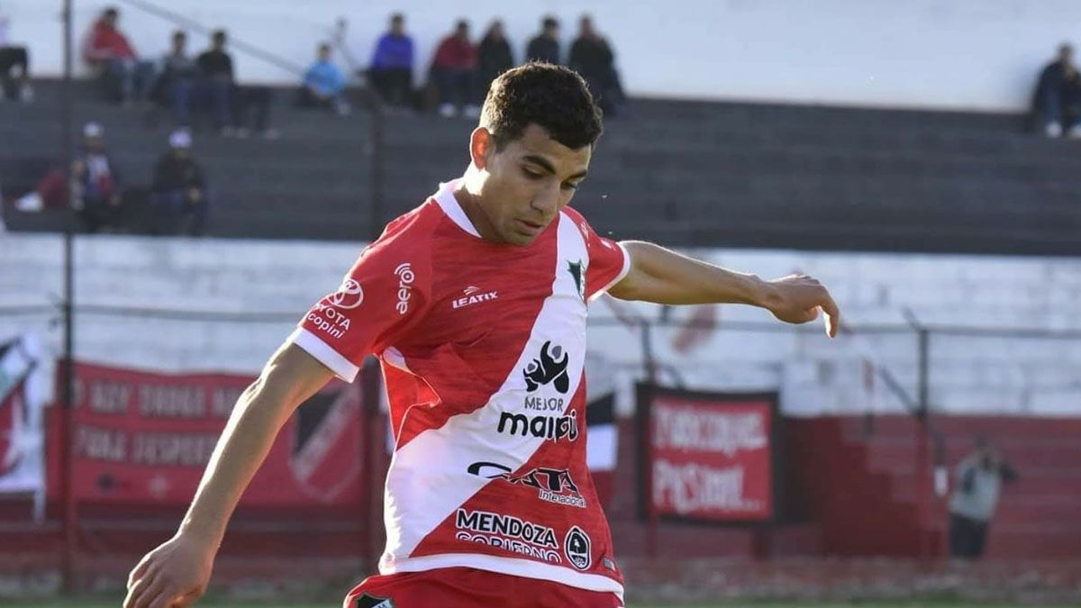 El defensor del Deportivo Maipú Javier Farías tiene ganas de volver a entrenar (Foto: gentileza Prensa Deportivo Maipú).