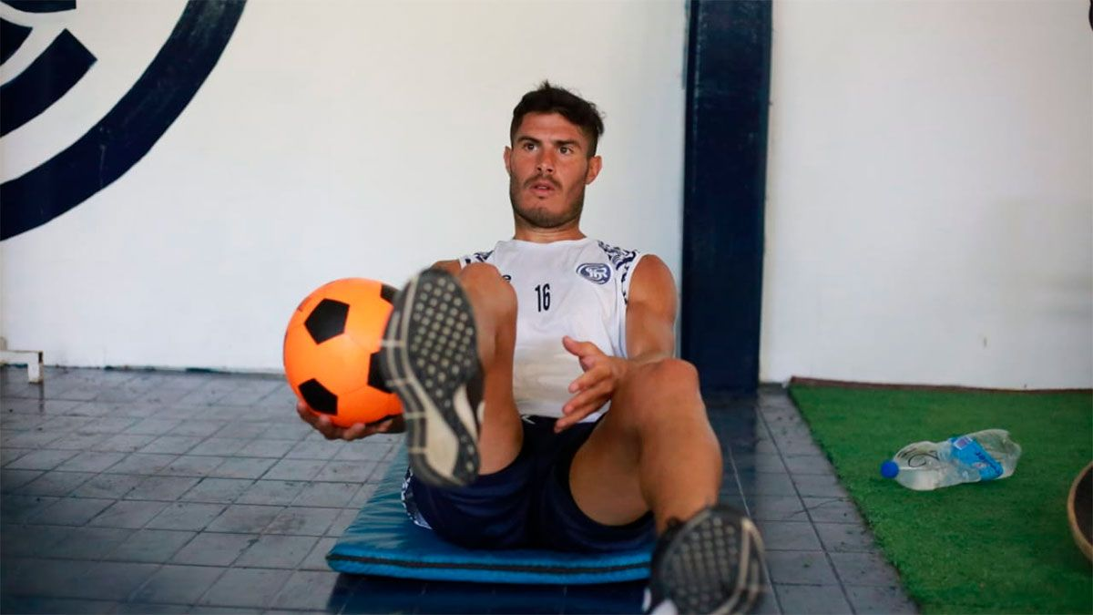 Juan Carlos Lezcano es el nuevo jugador de Independiente Rivadavia. (Fotos gentileza Prensa CSIR).
