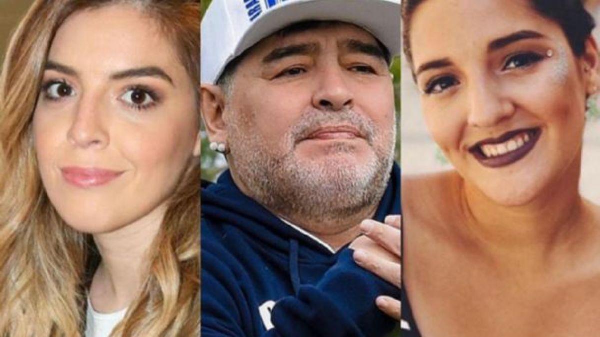 Escandaloso cruce de Dalma Maradona y Jana en la sala de espera: A mí no me tocas