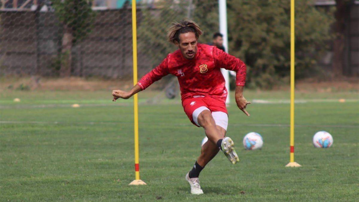 Federico Illanes se entrena en el Rangers. Foto: gentileza.