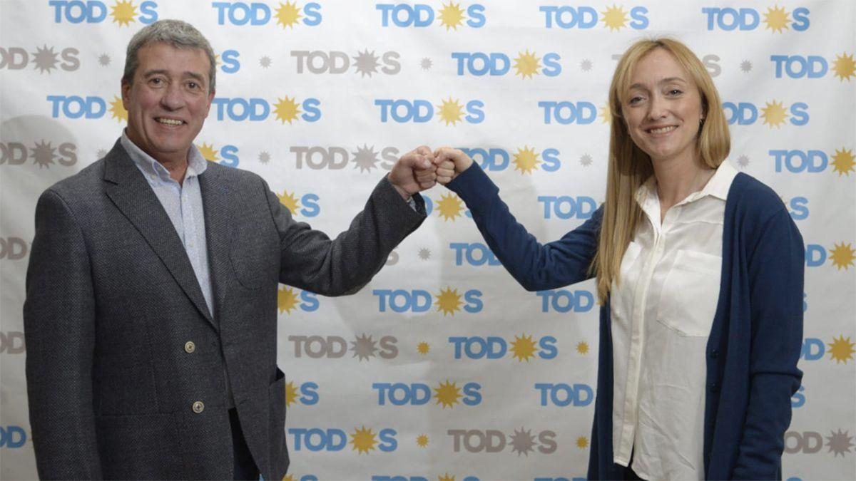 Anabel Fernández Sagasti, como senadora y Adolfo Bermejo para diputado encabezarán la lista del Frente de Todos para las PASO 2021.