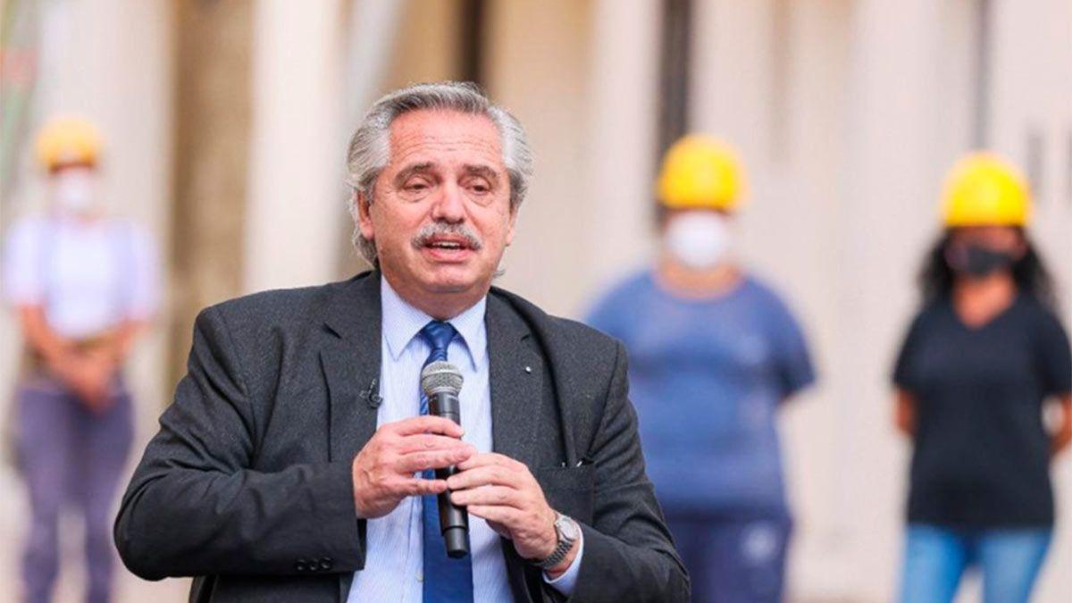 Alberto Fernández dijo que Juntos por el Cambio no terminó las casas por odio.