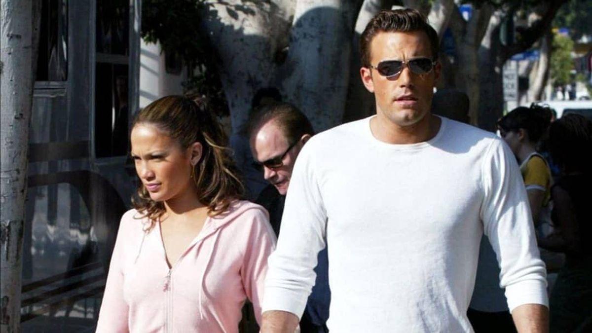 Jennifer López y Ben Affleck.