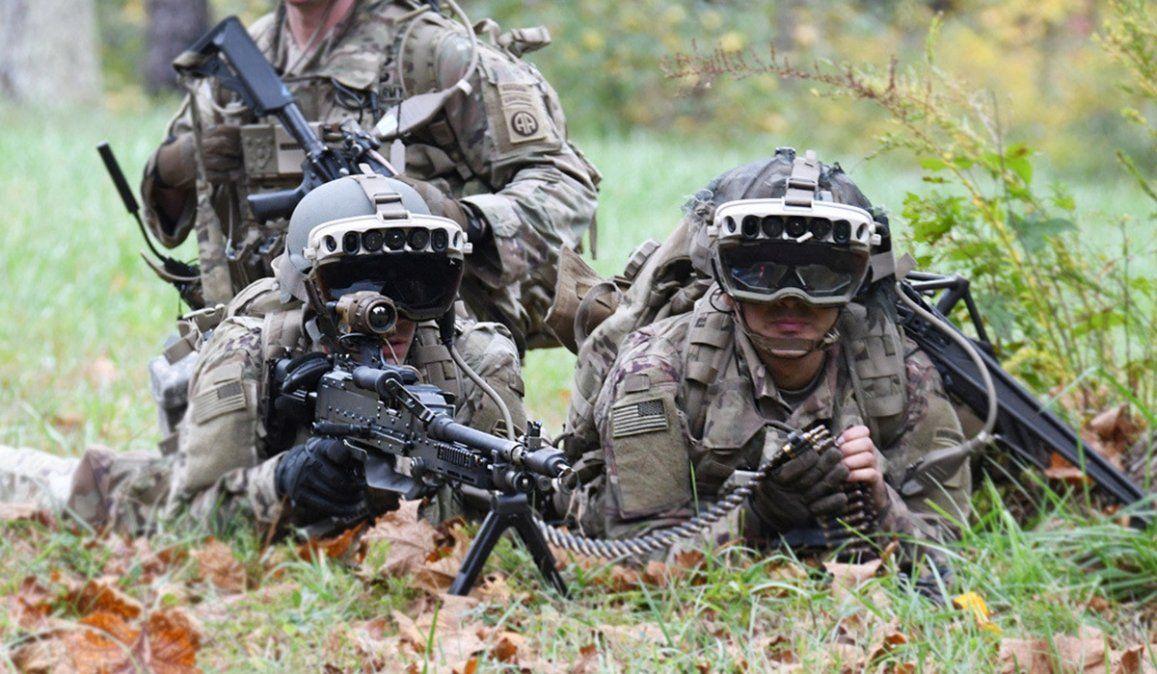 Casi U$S22 mil millones: Microsoft dotará con gafas a soldados de EE.UU.