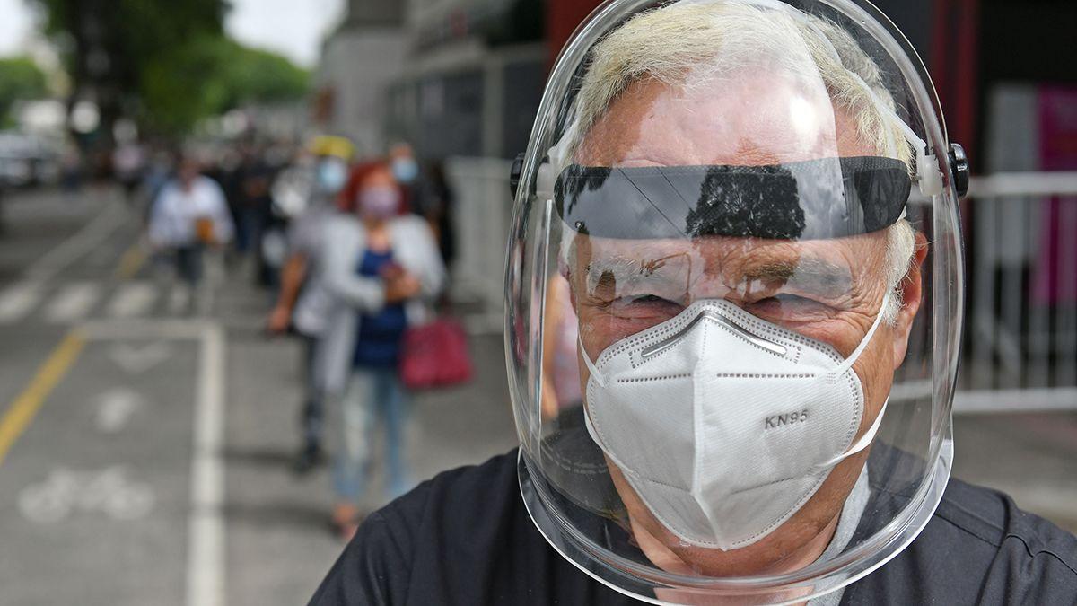 Más de 2 millones de casos de coronavirus en Argentina.