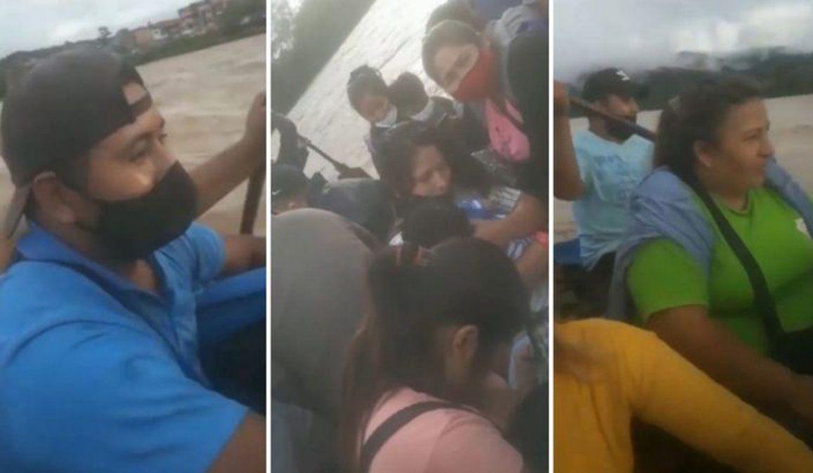 Tragedia en el gomón: se viralizó un video previo al accidente