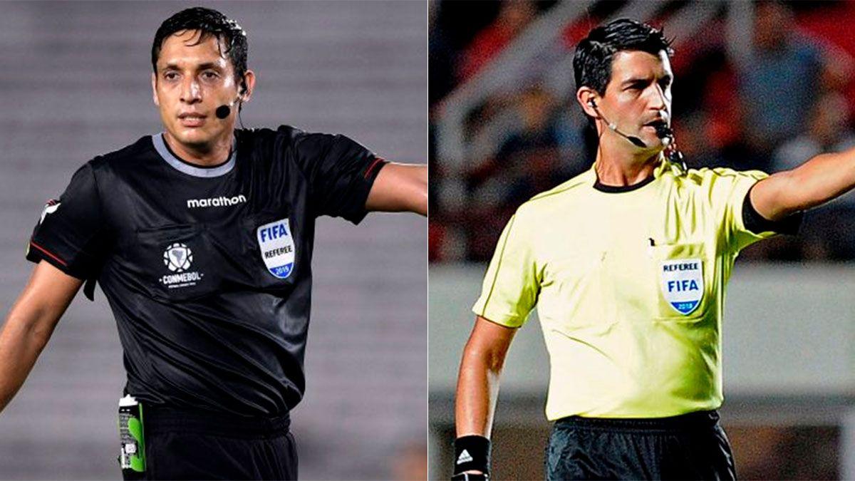 Jesús Valenzuela (izq.) reemplazará a Leodán González (der.)