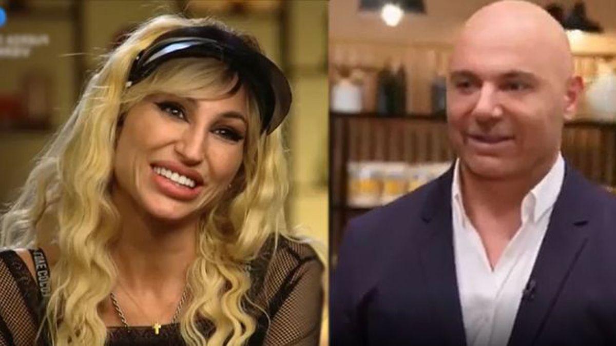 Vicky Xipolitakis sedujo a Germán Martitegui en Masterchef Celebrity.