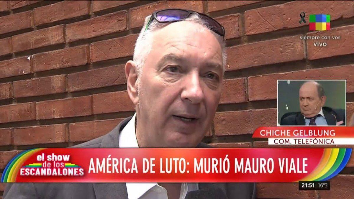 Chiche Gelblung sobre la muerte de Mauro Viale: No se sabe si fue una complicación del Covid o fue la vacuna