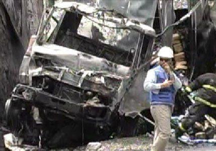 Tres personas murieron luego de ser aplastadas por un camión en Chile