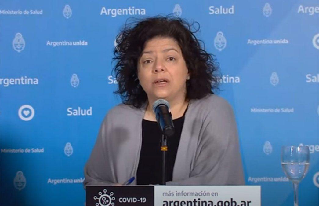 Carla Vizzotti ha mantenido un perfil de exposición alto durante la campaña de vacunación contra el coronavirus en el país.