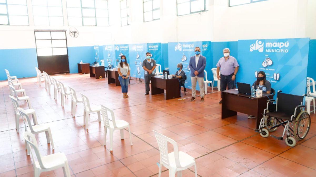 Todo listo en Maipú para iniciar la campaña de vacunación