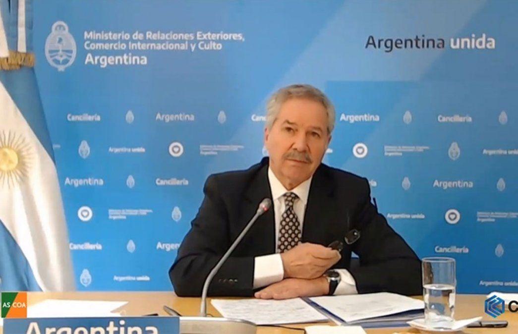 Felipe Solá. Cancillería tendrá a su cargo el nuevo Consejo Federal de provincias. Foto: NA.
