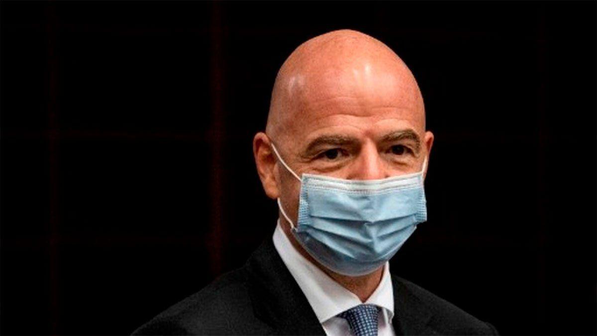 Gianni Infantino, presidente de la FIFA, tiene coronavirus