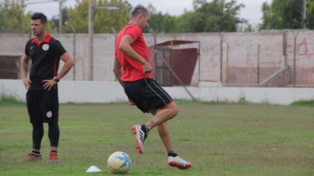 El Polaco Facundo Rodríguez está trabajando en la pretemporada.