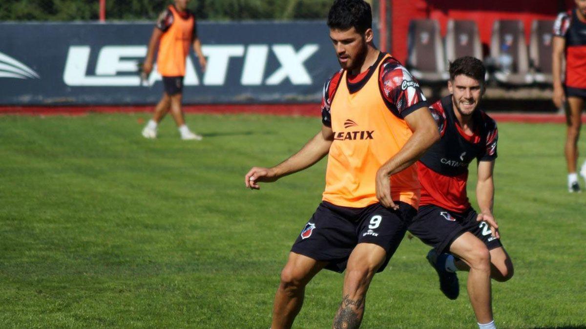 El ex Instituto volvió después de superar una lesión ante Alvararo y anduvo bien.