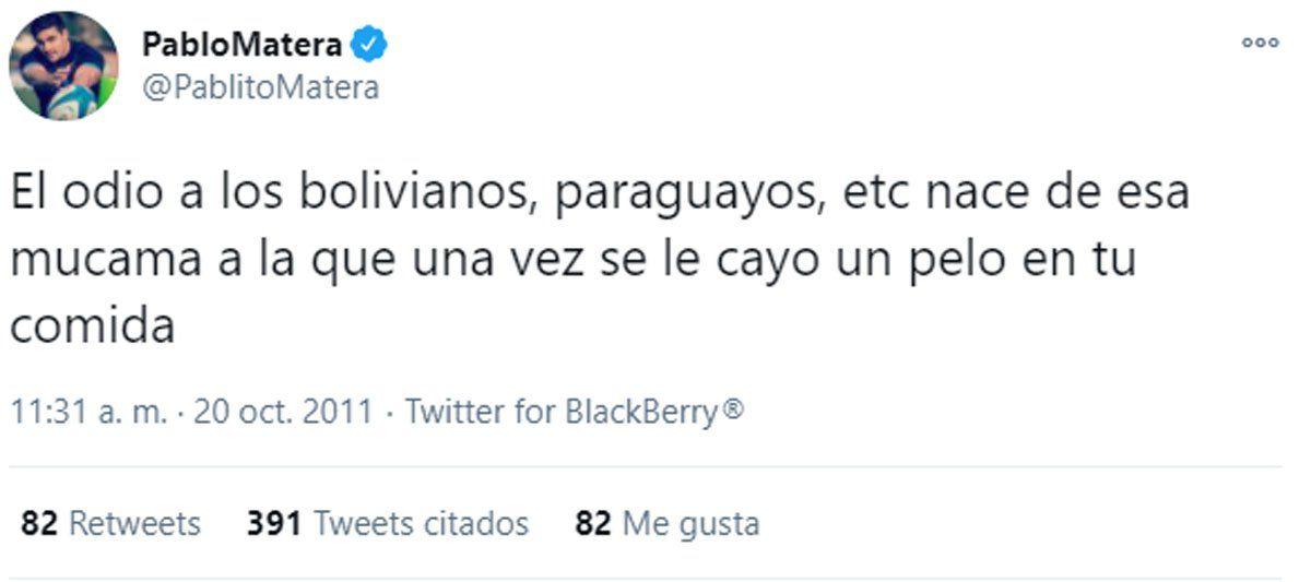 Matera, Maradona y los tuits viejos que se viralizaron