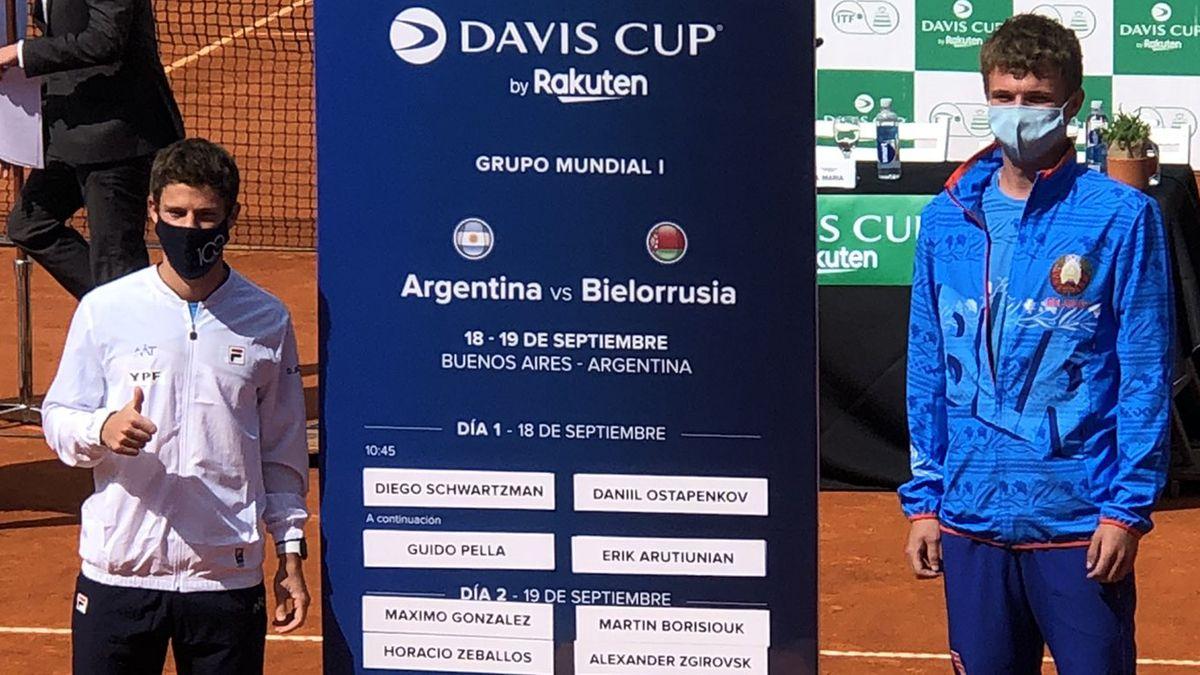 Diego Schwartzman será el encargado de abrir la serie de Copa Davis.