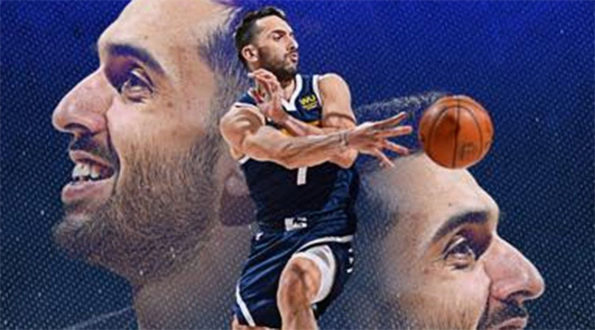 Campazzo y Denver comenzarán los playoffs de la NBA