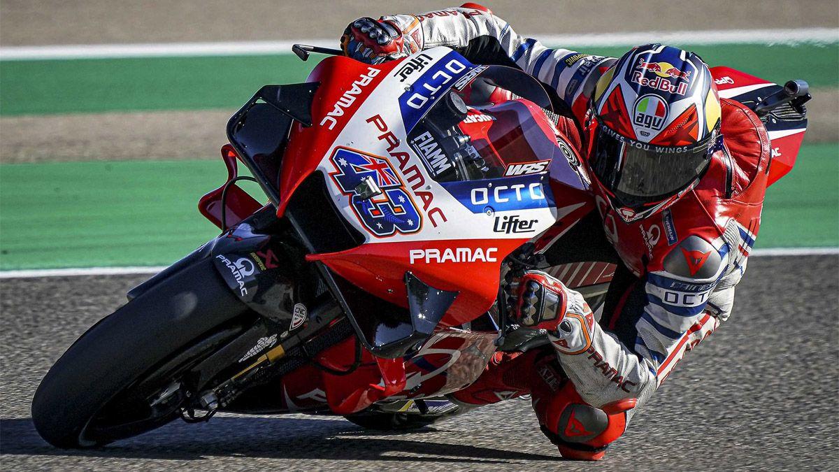 MotoGP: Miller marcó el rumbo en los ensayos de Valencia