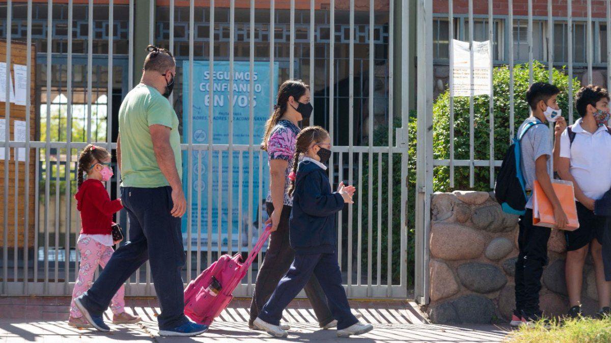 El lunes hay clases en Mendoza