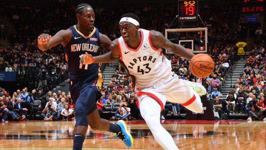 En el inicio de la NBA, triunfos del campeón Toronto y de los Clippers