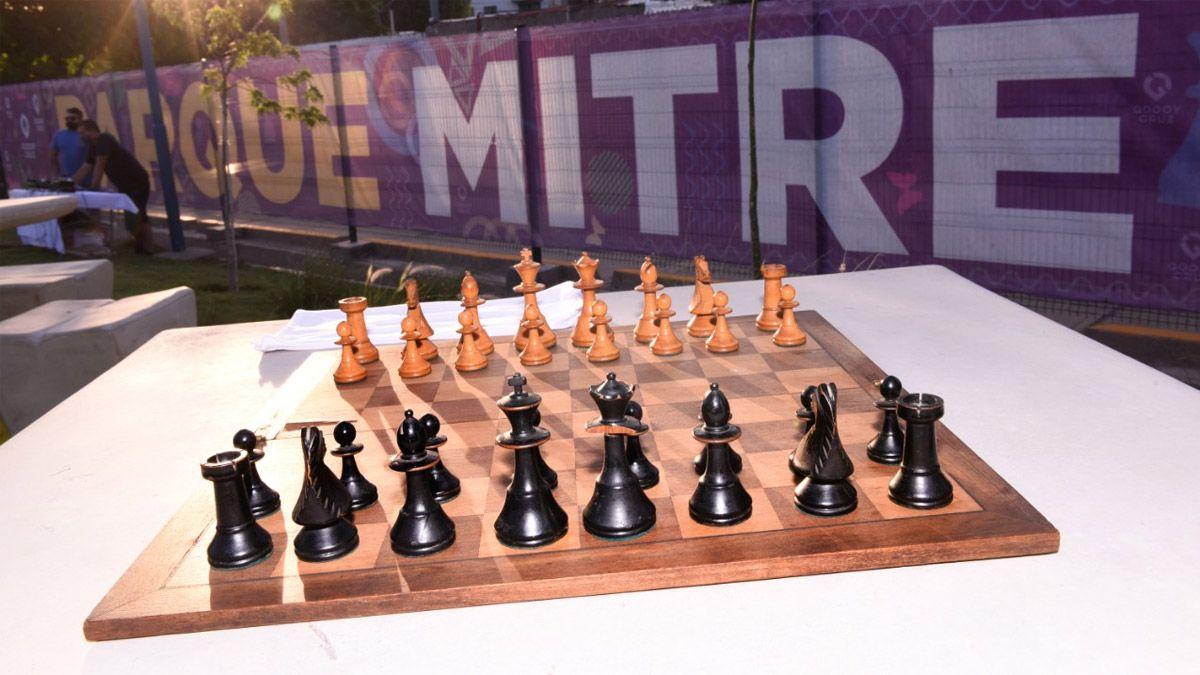 Se viene un torneo de ajedrez en Parque Mitre